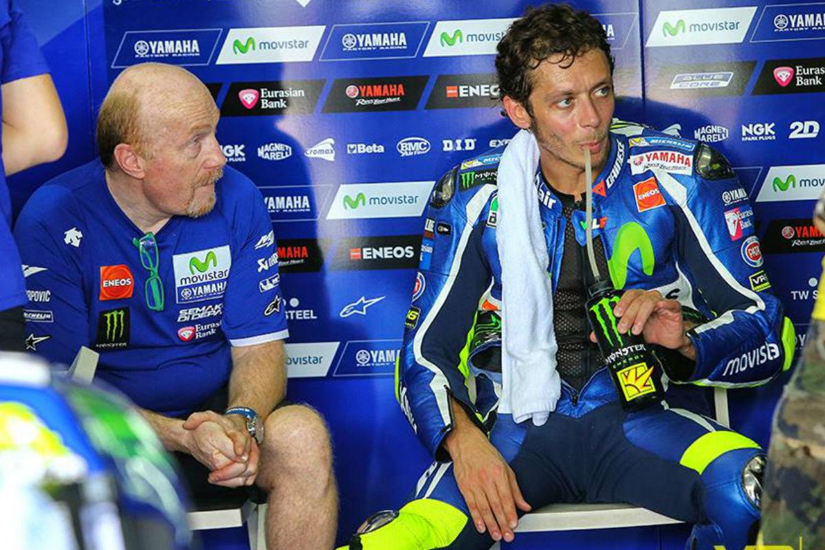 Valentino Rossi, la pasada semana en Sepang.