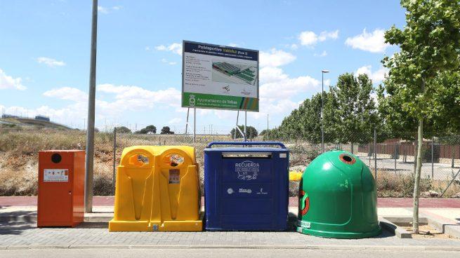 Contenedores de reciclaje (Foto: GETTY)