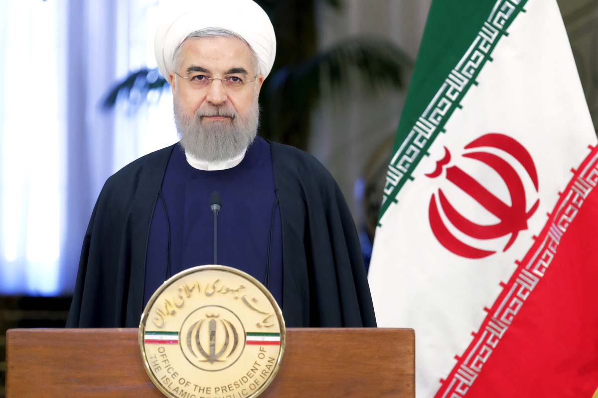 Hassan Rouhani, presidente de Irán (Foto: Reuters)