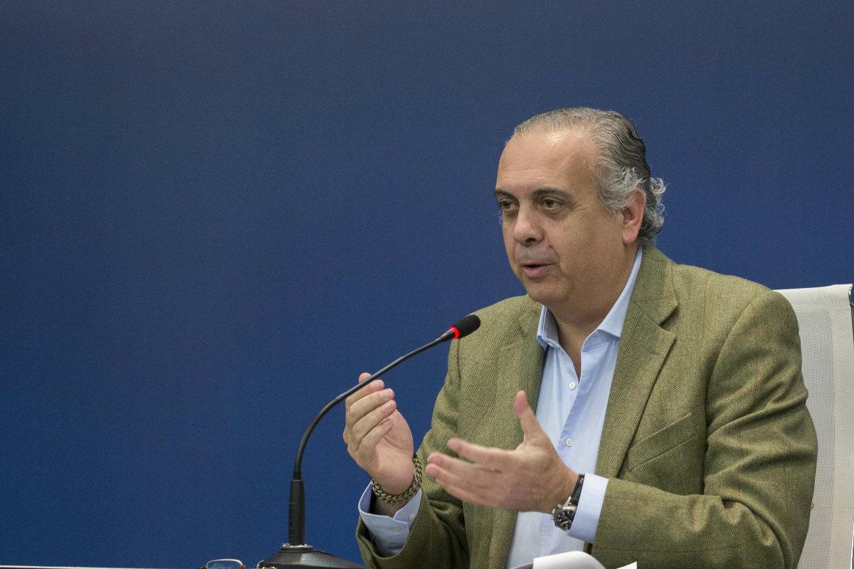 José Luis Sáez, en una conferencia. (FEB)