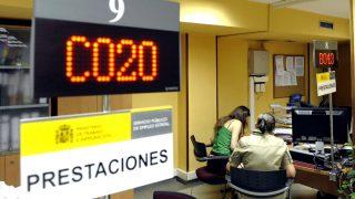 Una oficina de la Seguridad Social.