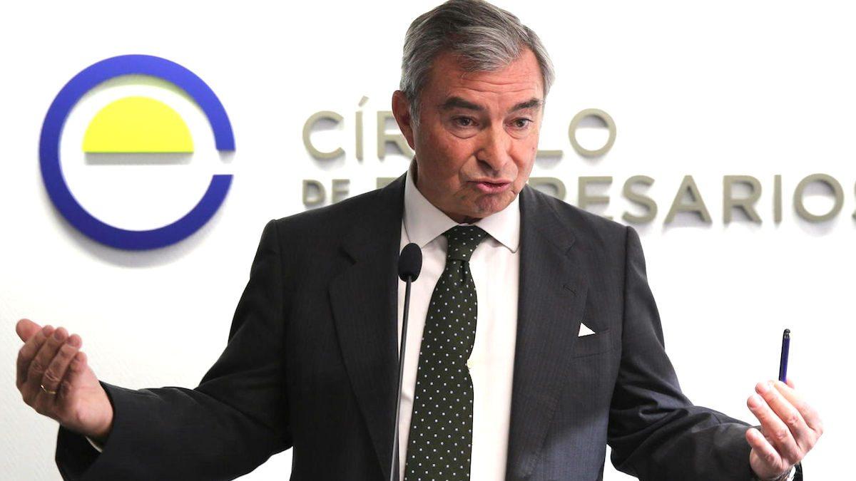 El presidente del Círculo de Empresarios y de DKV Seguros, Javier Vega de Seoane. (Foto: EFE)