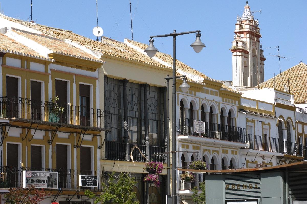 Plaza de Altozano en Utrera (Foto: Wikimedia)