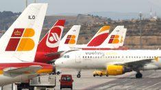 Aviones de Vueling e Iberia (Foto: GETTY)