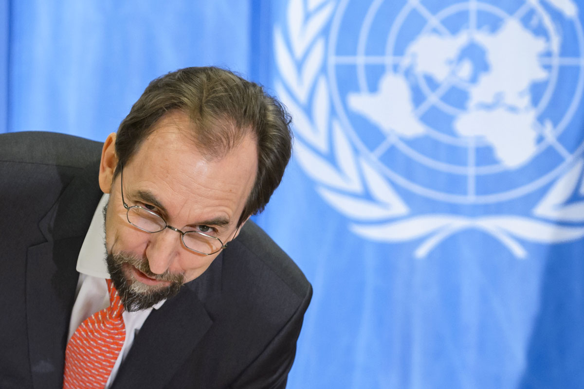 Zeid Ra'ad al Hussein. (Foto: AFP)
