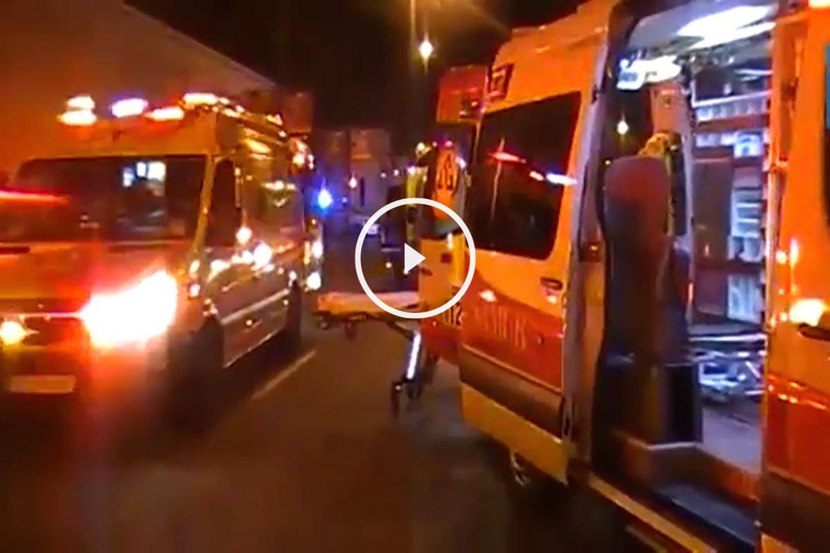 Atropello mortal en Madrid.