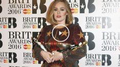 Adele se llevó a casa cuatro de los galardones más importantes de los BRIT Awards 2016. (Foto: Getty)