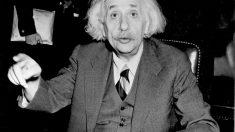Albert Einstein en 1946. (Foto: Getty)
