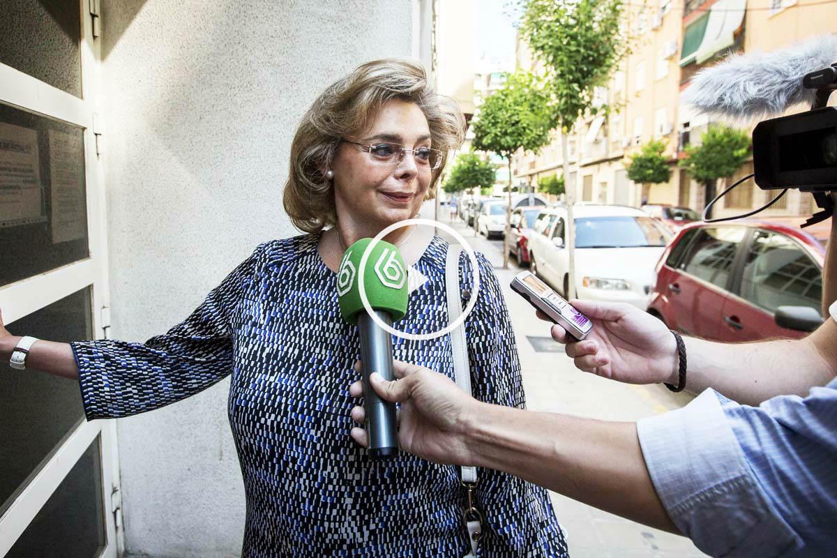 La ex concejala de Cultura del Ayuntamiento de Valencia María José Alcón (Foto: Efe).