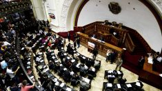 Vista general de la Asamblea Nacional de Venezuela. (Foto: AFP)