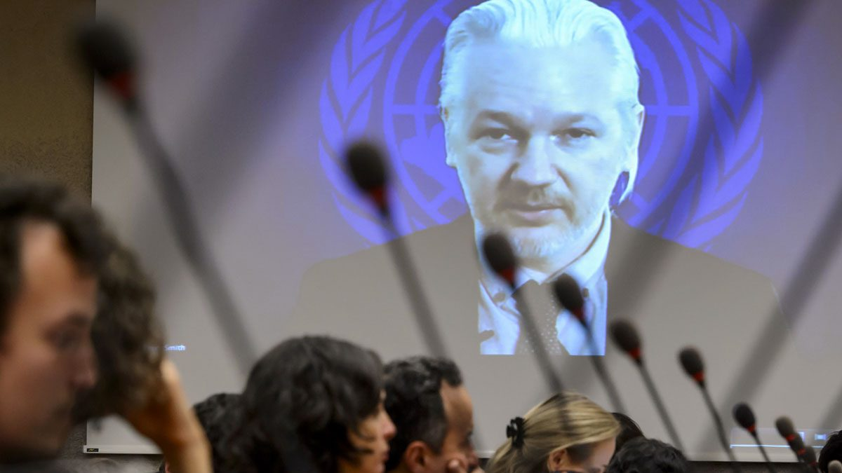 Julian Assange. (Foto: AFP)