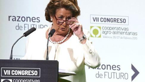 La ex alcaldesa de Valencia y actual senadora Rita Barberá (Foto: Getty)