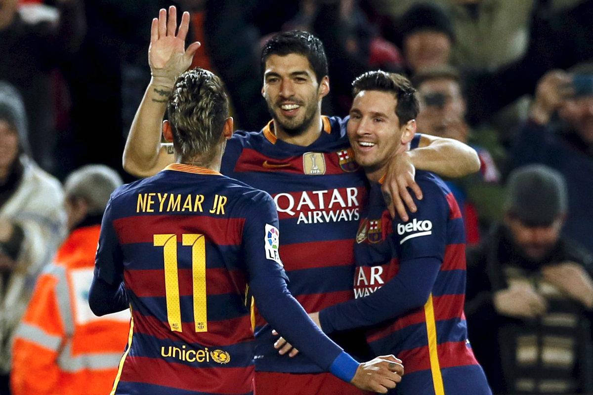 El Barcelona pasó por encima del Valencia. (Reuters)