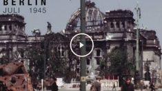 En el video se puede ver la vida de la capital alemana dos meses después de perder la II Guerra Mundial. (Video: Chronos Medios)