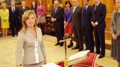 Bibiana Aído accede al cargo como ministra de Igualdad en 2008. (Foto: AFP)