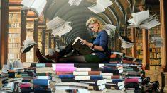 El futuro de las bibliotecas pasa por digitalizar todos sus contenidos, atendiendo a las exigencias de las nuevas generaciones digitales. (Foto: Getty)
