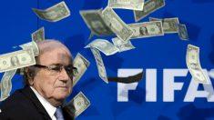El ex presidente de la FIFA, acosado por la corrupción, Joseph Blatter. (Foto: AFP)