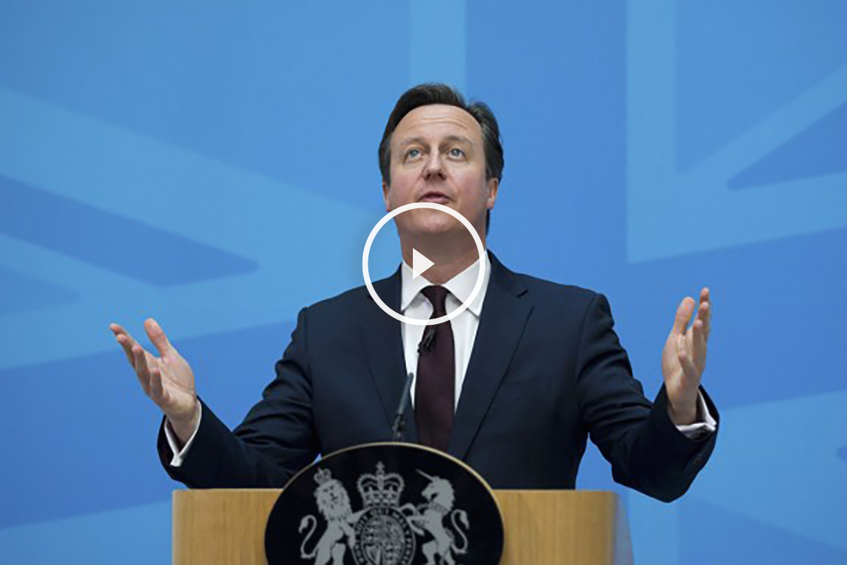 David Cameron. (Foto: Getty)