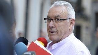 Cayo Lara, en una reciente imagen (Foto: AFP).