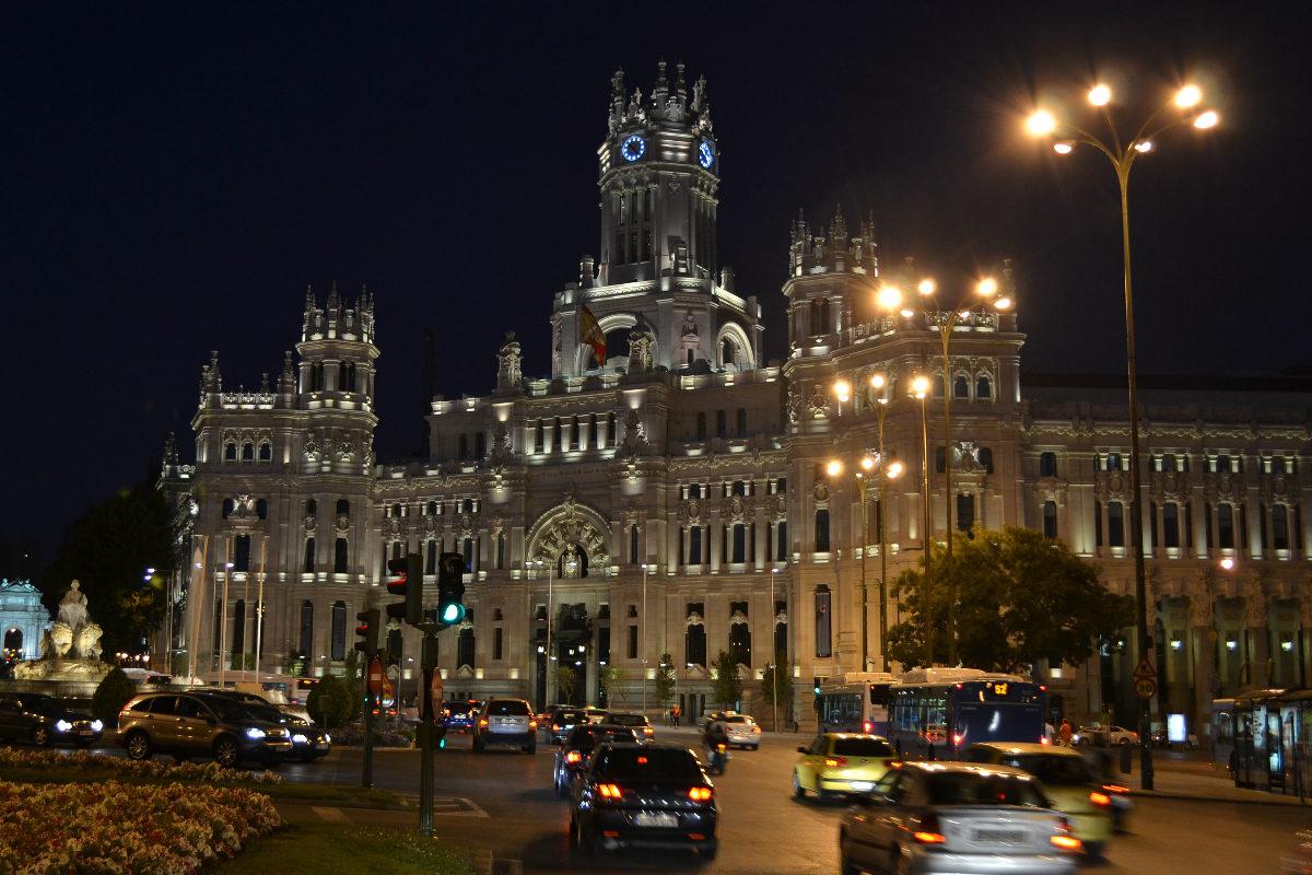 El Palacio madrileño de Cibeles acoge en su interior el espacio cultural CentroCentro.