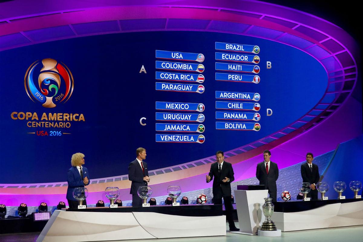 Ya se conocen los grupos de la Copa América 2016. (Getty)