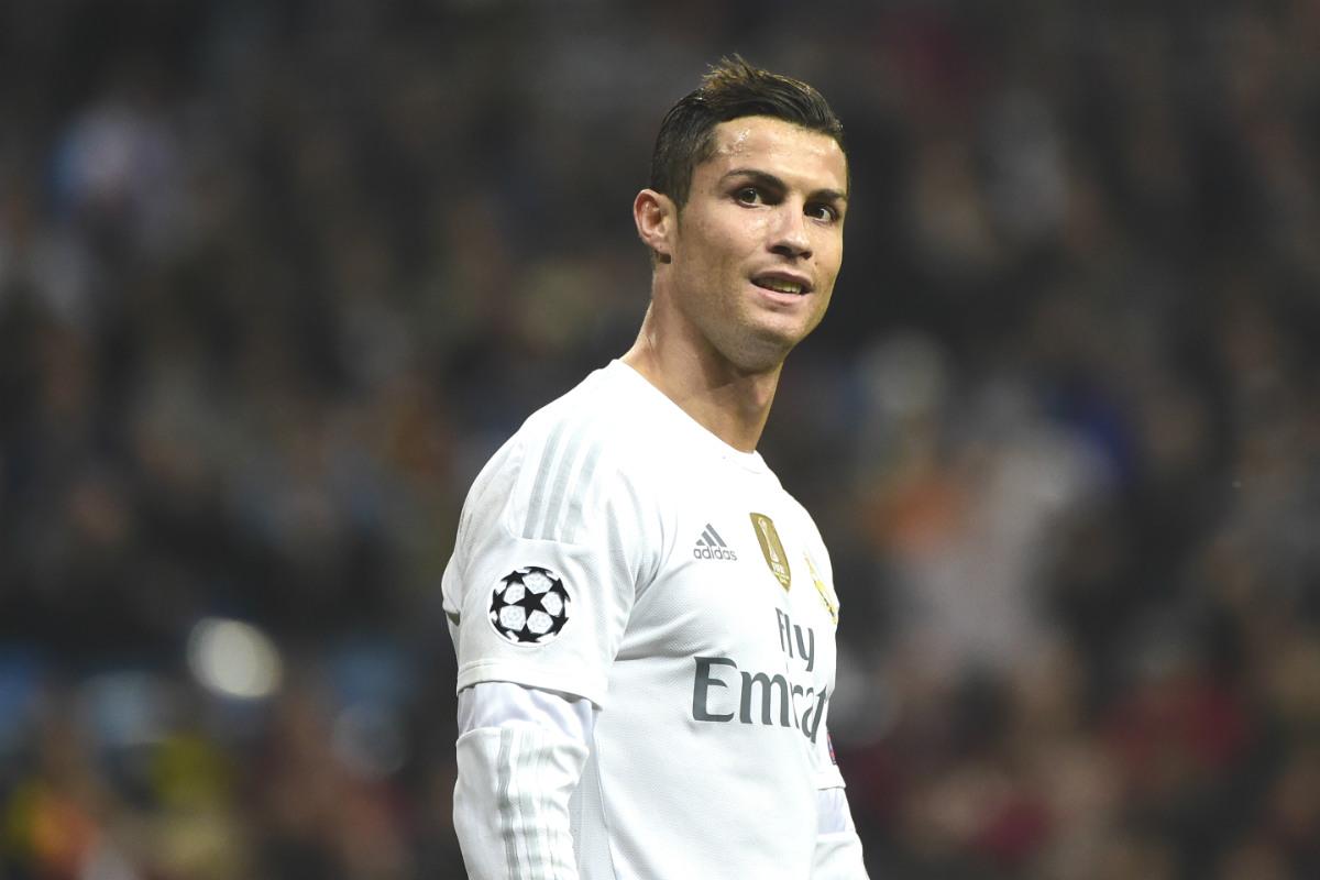 Cristiano Ronaldo, en un partido de Champions de esta temporada. (AFP)