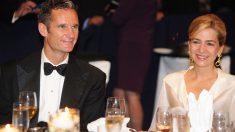 Cristian de Borbón e Iñaki Urdangarin durante una cena de gala en Estados Unidos. (Foto: Getty)