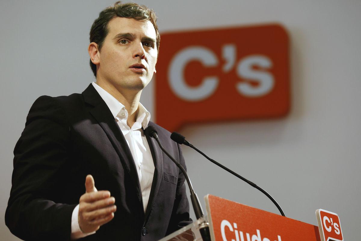 El presidente de Ciudadanos, Albert Rivera (Foto: Efe)