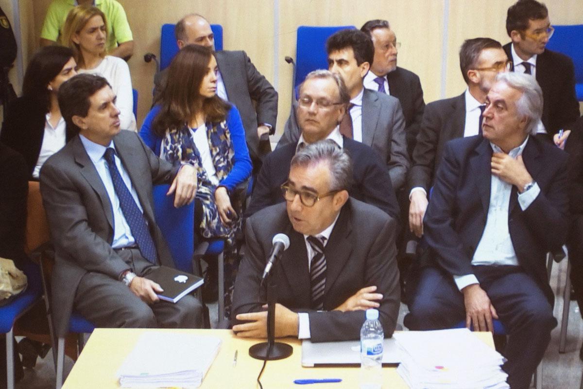 Diego Torres durante el juicio. (Foto: EFE)