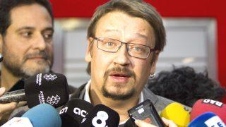 El dirigente de En Comú Podem, Xavier Domenech (Foto: Efe)