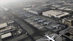 Aeropuerto de Dubai. (Foto: AFP)