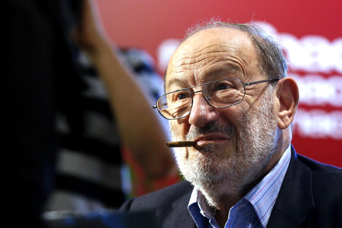 El escritor Umberto Eco (Foto: AFP).).