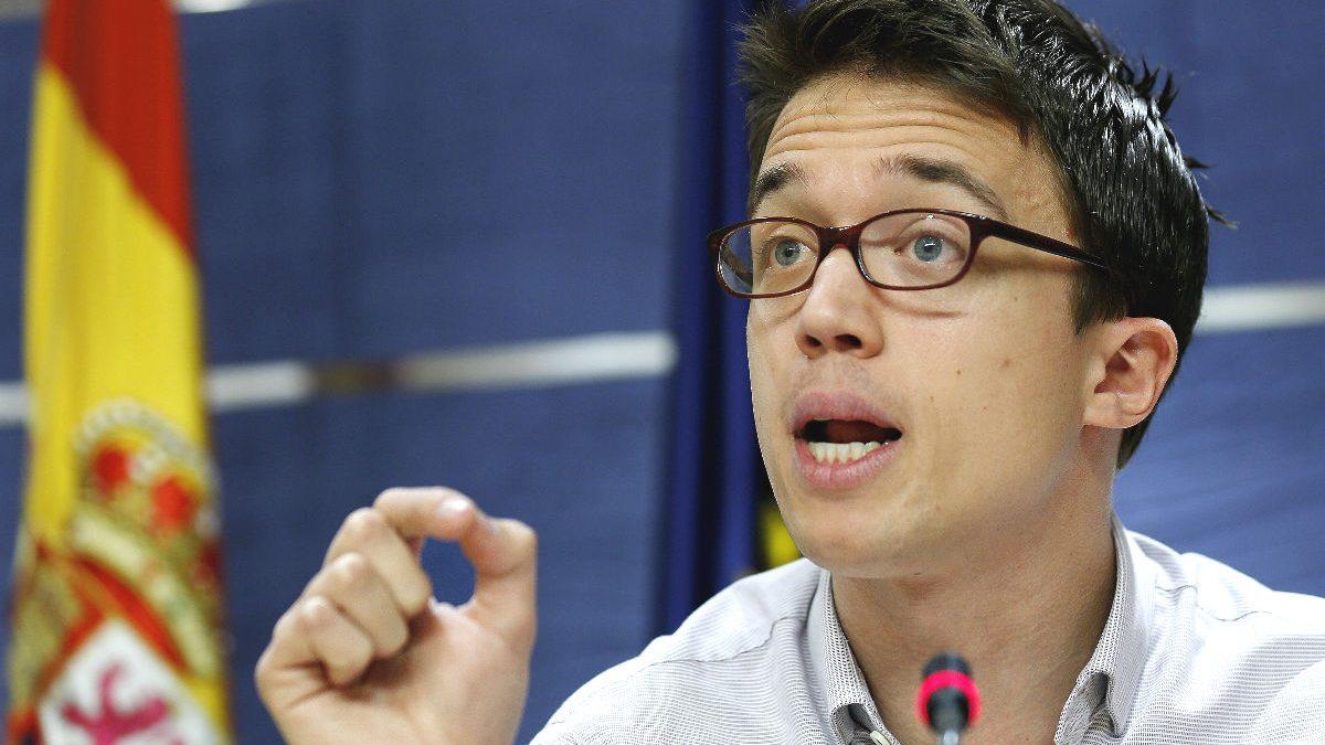 El portavoz de Podemos en el Congreso, Íñigo Errejón (Foto: EFE)