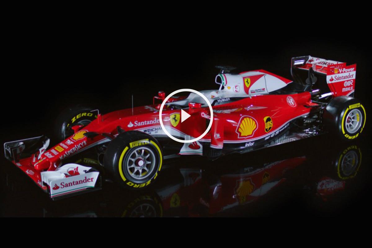 El nuevo Ferrari SF16-H