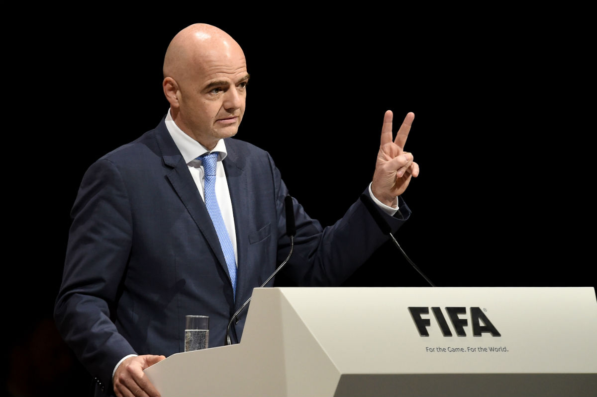 Gianni Infantino es el nuevo presidente de la FIFA. (Getty)