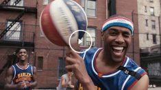 Fotograma del videoclip oficial del 90 aniversario de los Globertrotters