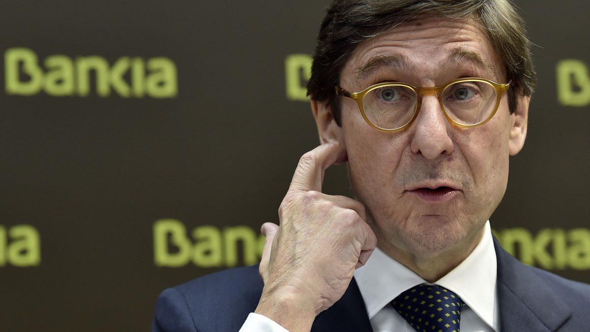 José Ignacio Goirigolzarri, presidente de Bankia. (Foto: AFP)