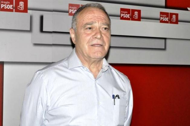 Miguel Gracia, presidente socialista de la Diputación de Huesca.