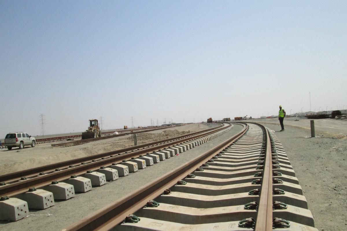 Línea de Alta Velocidad Haramain La Meca-Medina.  (Foto: OHL)