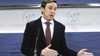 El portavoz parlamentario del PP, Rafael Hernando. (Foto: Efe)