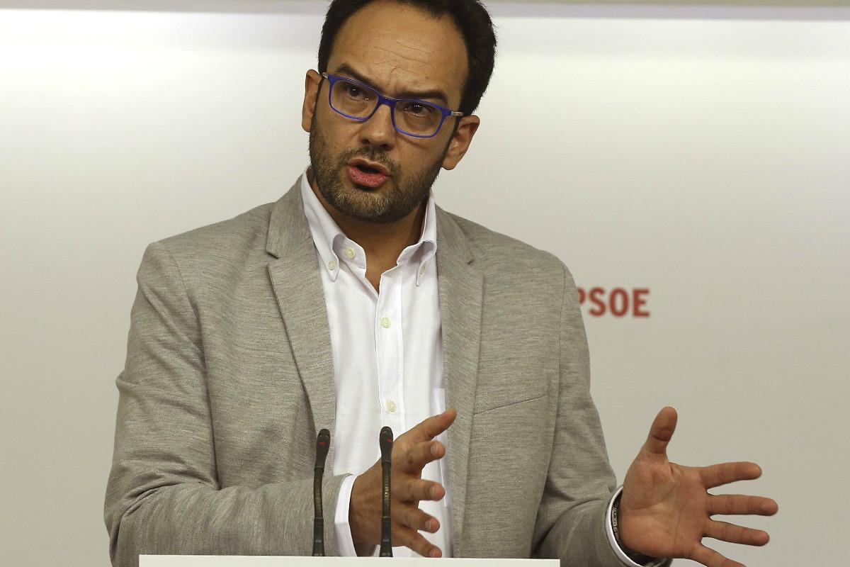 Antonio Hernando. (Foto: EFE)