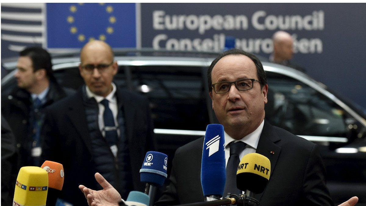 El presidente francés, François Hollande. (Reuters)