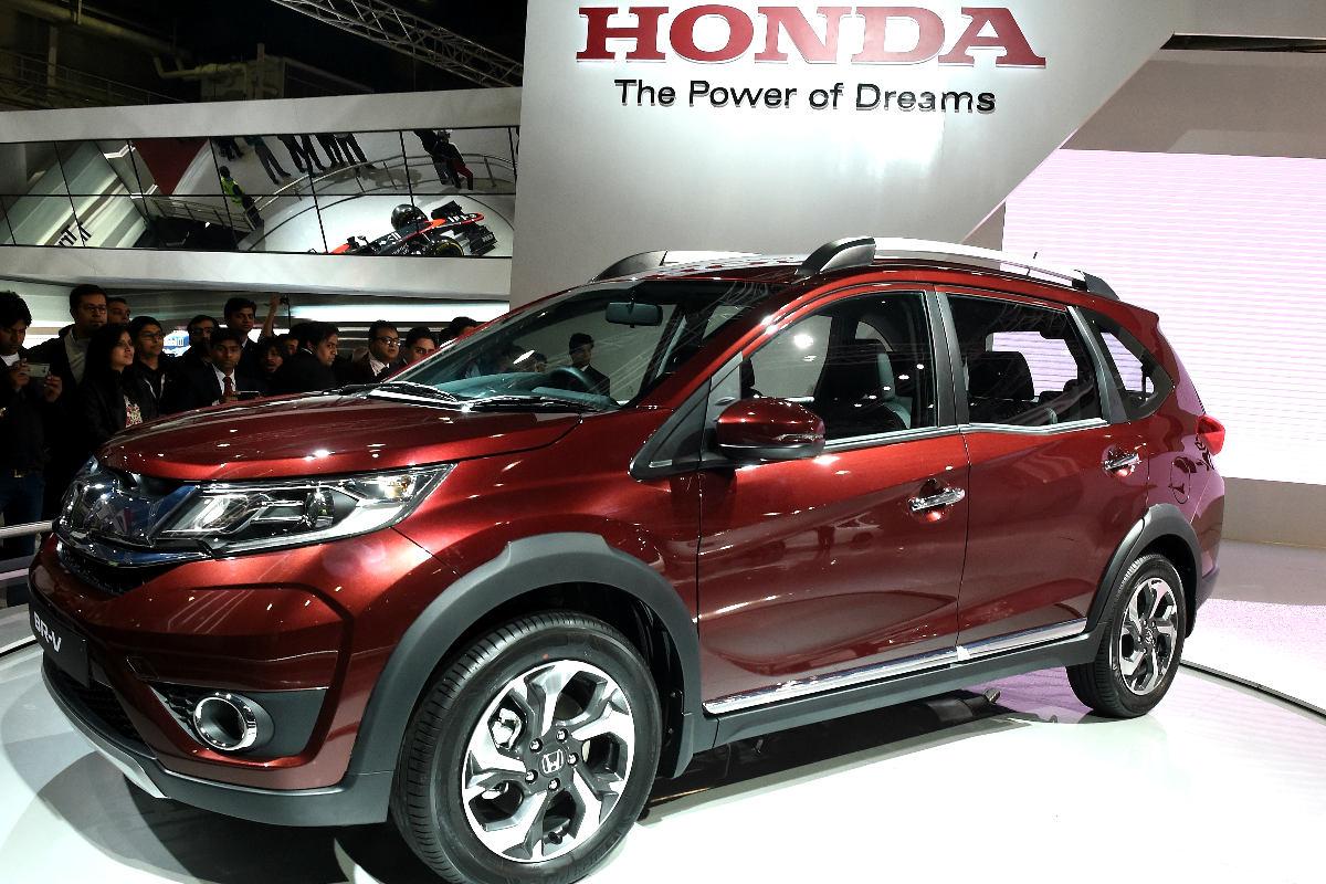 Un vehículo Honda en una exposición del fabricante japonés (Foto: AFP).