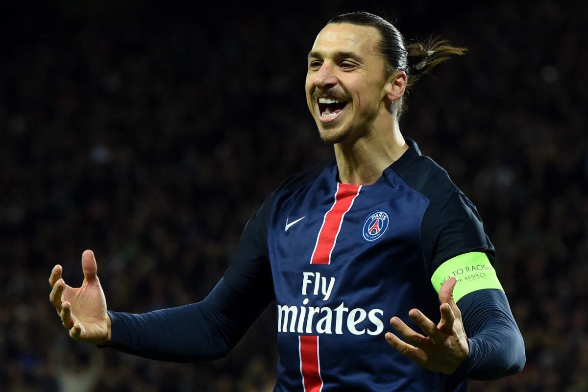 Ibrahimovic está firmando una gran temporada goleadora. (Getty)