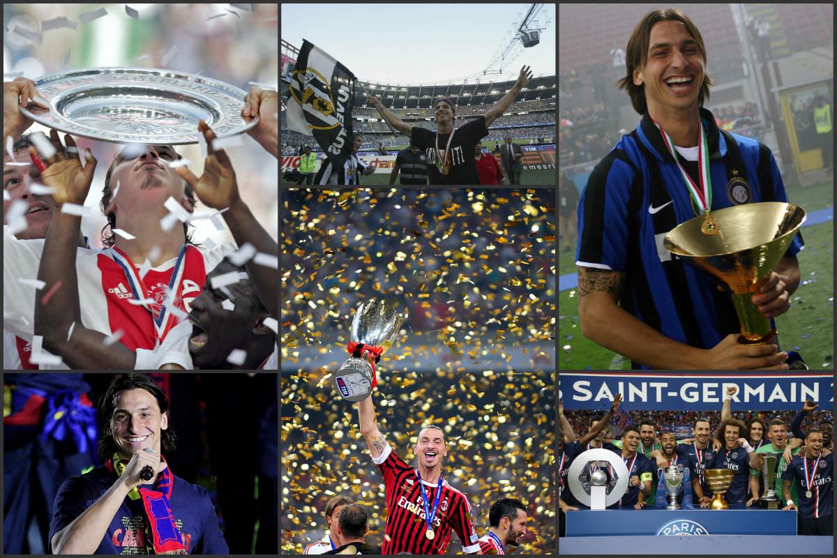 Ibrahimovic ha ganado 12 Ligas en las últimas 14 temporadas.