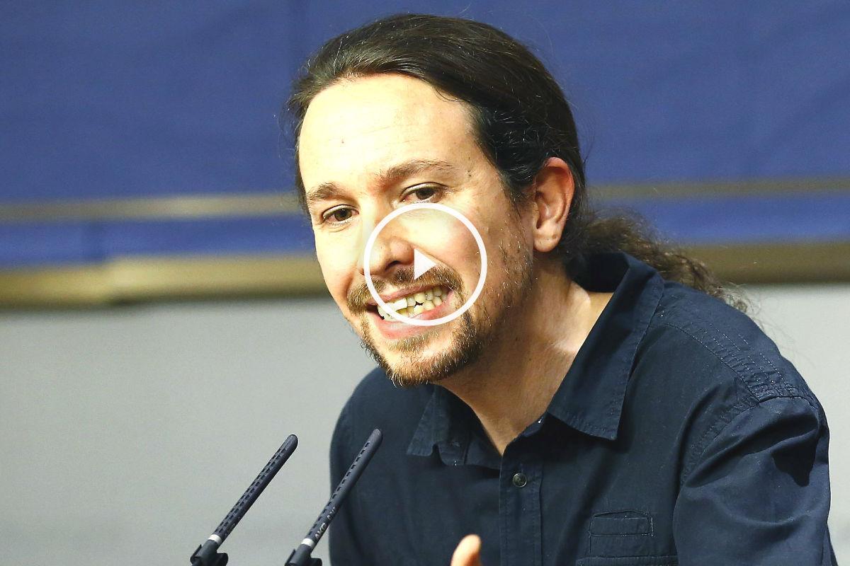 El líder de Podemos, Pablo Iglesias (Foto: Efe)