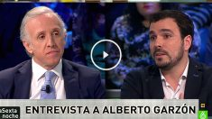 Eduardo Inda y Alberto Garzón en laSexta.