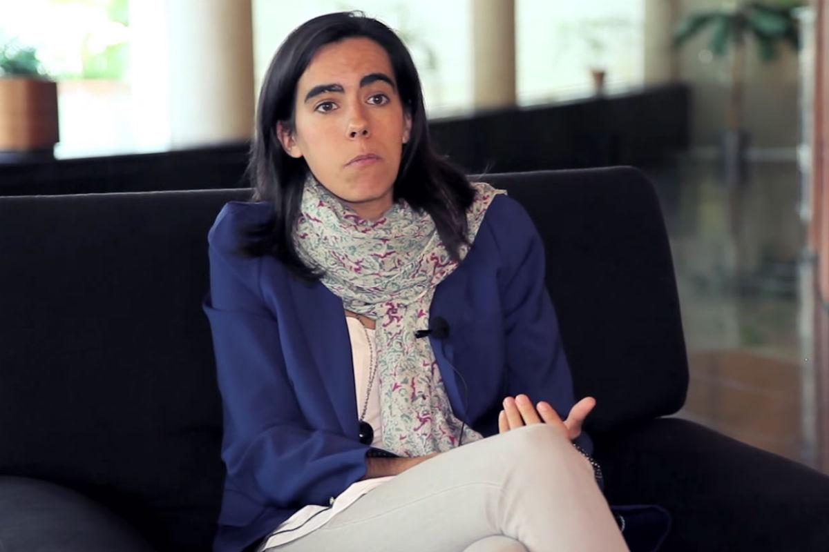 Isabel Benjumea, directora de Floridablanca (Foto: SPANISHLIBERTARIAN).