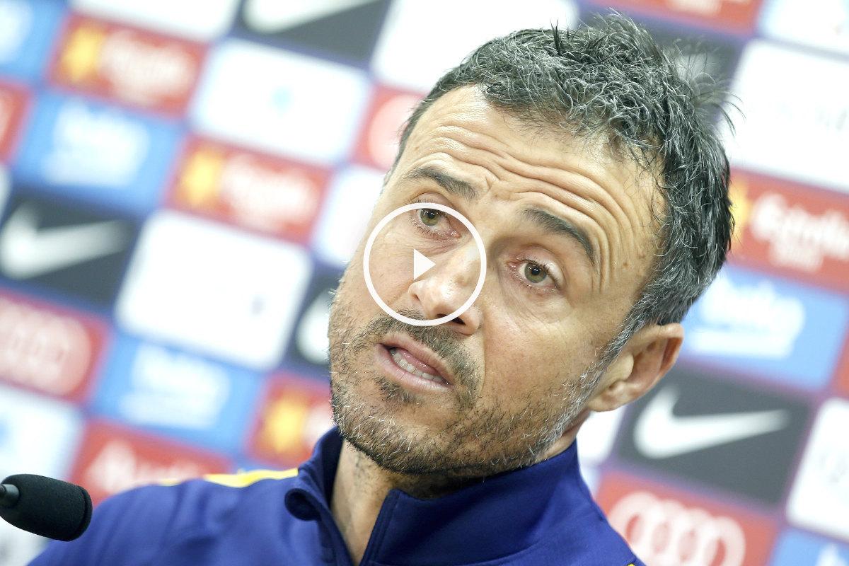 Luis Enrique vivirá un partido especial ante el Sporting. (EFE)