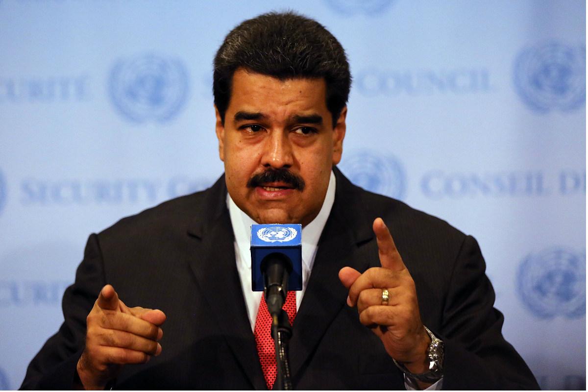 El dictador venezolano, Nicolás Maduro. (Foto: Getty)